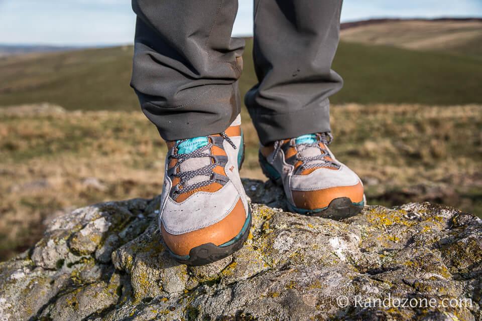 Test des chaussures Merrell Flurorecein Mid