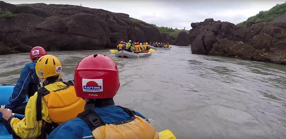 Rafting en Islande dans le Cercle d'Or