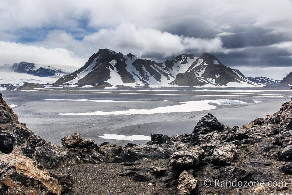 Sur le trek du Laugavegur en Islande