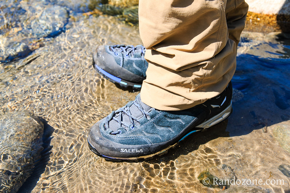 Test des chaussures de randonnée Salewa Mountain Trainer Mid GTX