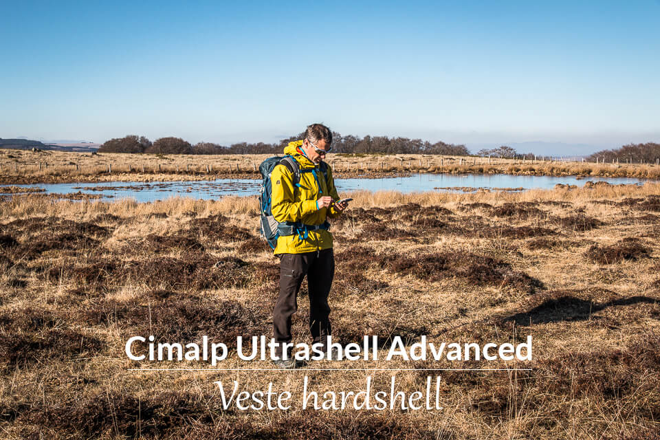 Test de la veste Cimalp Ultrashell Advanced